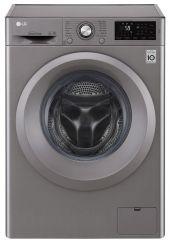 ماشین لباسشویی نقره ای ال جی F2J5QNP7S