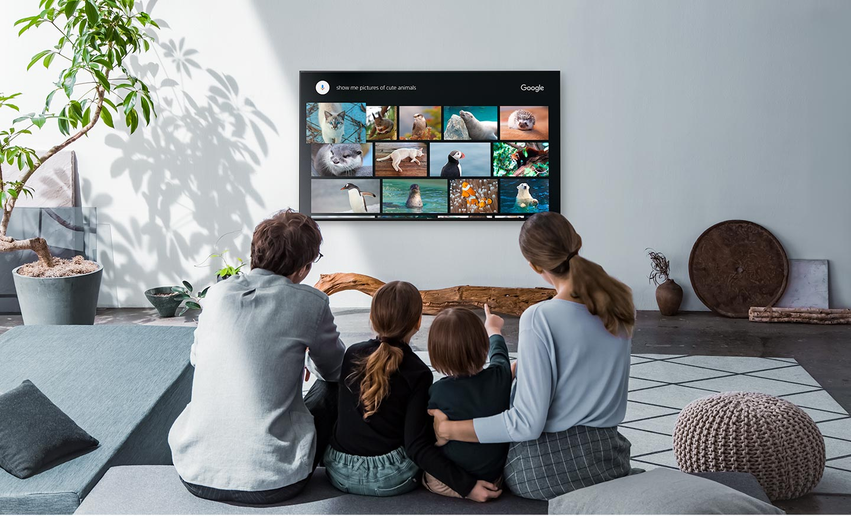 امکانات و ویژگی های هوشمند تلویزیون اسمارت سونی 55X80H