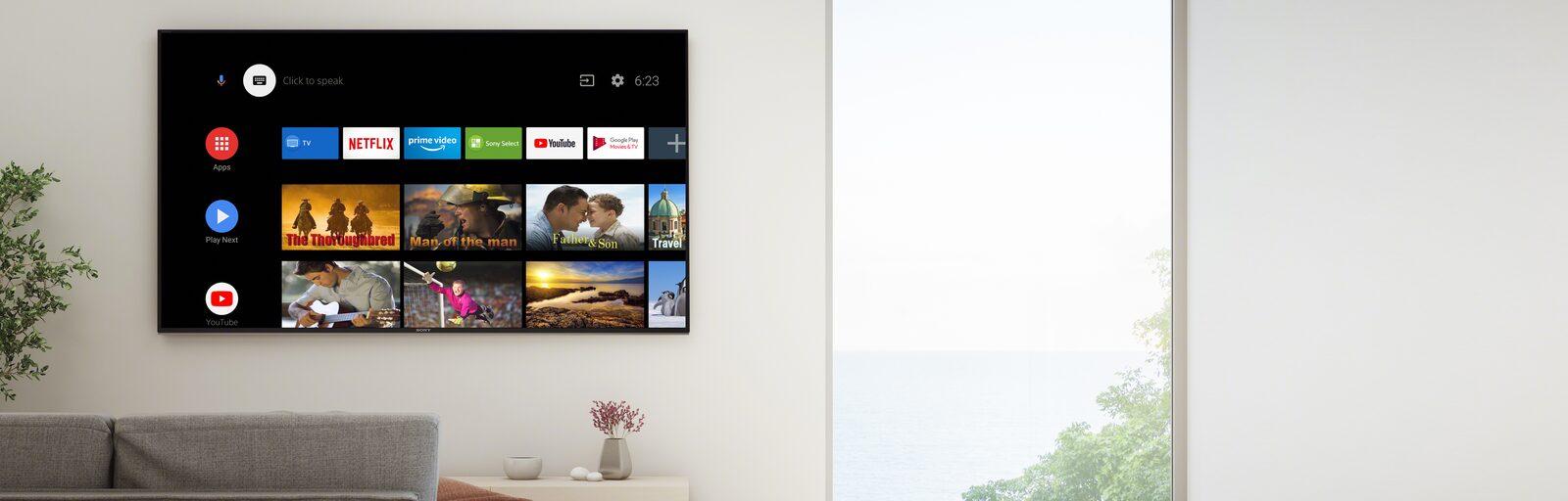 قیمت تلویزیون اندرویدی سونی مدل X8007H
