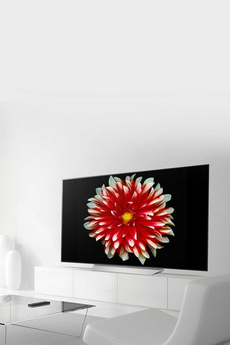 تصاویری با سیاهی مطلق در تلویزیون ال جی C7V
