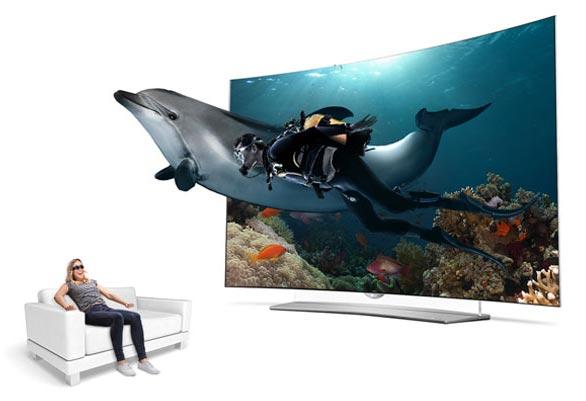 تلویزیون 4K 3D ال جی EG960T