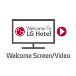 صفحه خوش آمد گویی شخصی در تلویزیون ال جی LV300C