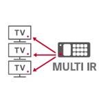 ریموت کنترل با عملکرد یکسان در تلویزیون ال جی LV300C