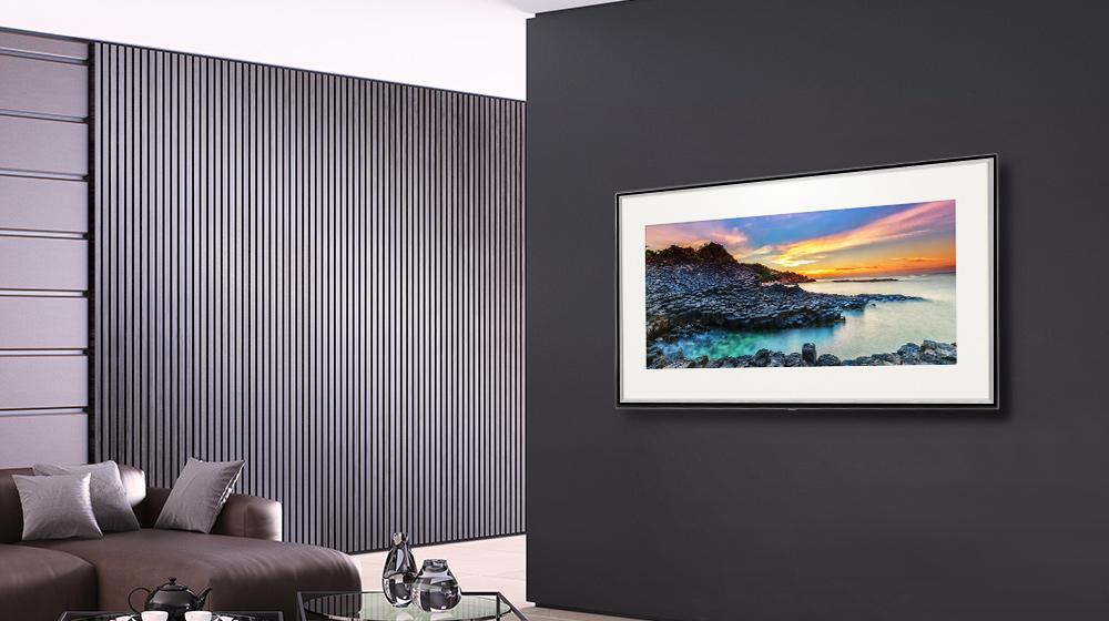 تلویزیون SK8000 دارای حالت گالری تصاویر