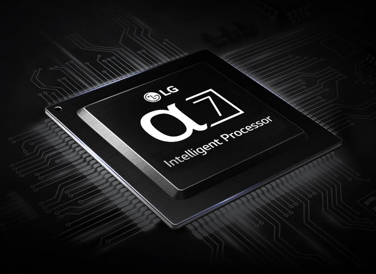 تلویزیون LG SK9000 دارای پردازنده آلفا 7