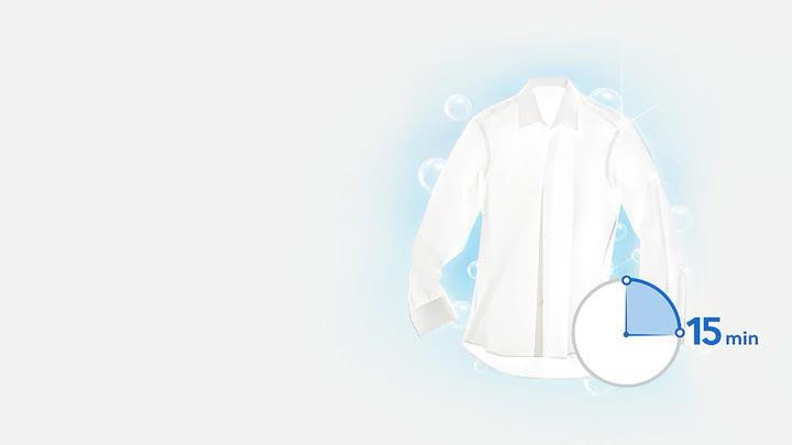 صرفه جویی در وقت و انرژی با لباسشویی WW70J4373MA سامسونگ